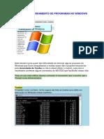 Forçar o encerramento de programas no Windows