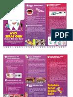 Leaflet Kebersihan Gigi Dan Mulut