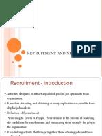 Ch1. Recruitment Job Analysis