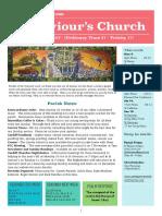 st saviours newsletter - 8 oct 2017