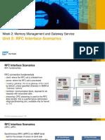 OpenSAP Cst1 Week 2 Unit 5 Rfc Presentation