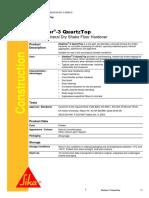 Sikafloor-3 QuartzTop