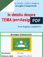 In Detaliu Despre TEMA(Assignment) 160226