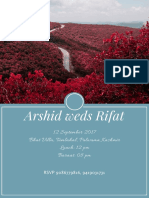 Ars Hid Weds Rifat