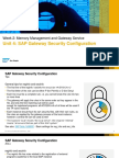 OpenSAP Cst1 Week 2 Unit 4 Security Presentation