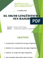 Clase El Signo Lingüístico