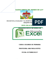 Excel Paola