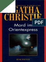 Agatha Christie - Mord Im Orientexpress