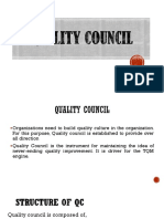 2. Quality Council