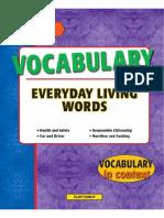 Vocabulary Everyday Living Words1