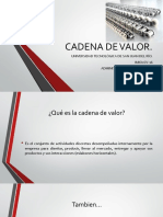Cadena de Valor (1)