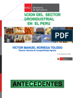 Sector Agro Industrial