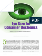 Eye Gaze for Consumer Electronics