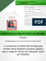 Técnico de Operação Júnior PETROBRAS Questão 21 Resolvida da Prova 8 Concurso PETROBRAS 2008