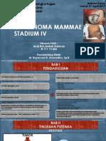 Carcinoma Mammae Stadium IV