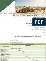 Tugas Besar studio perancangan arsitektur 3 (Sem. Sisipan)
