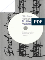 HARNONCOURT, N. - El Diálogo Musical
