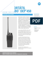 Manual de Usuario Motorola DEP 450