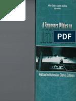 A Segurança Pública No Distrito Federal - Práticas Institucionais e Dilemas Culturais