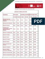 FECHAS de EXÁMENES FINALES (Julio-Agosto, Noviembre-Diciembre 2017 y Febrero-Marzo 2018) — Universidad Nacional de Córdoba