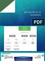 Aplicación de La Geografía