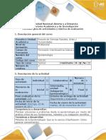Guía de actividades y rúbrica de evaluación - Fase 4 - Solucionar un Problema Epistemológico