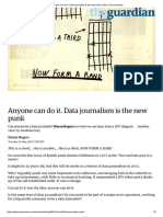 The Guardian. Anyone Can Do It. Data Journalism is the New Punk