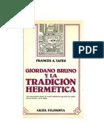 Yates Frances - Giordano Bruno 1 (OCR)