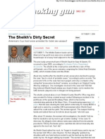 The Sheikh's Dirty Secret