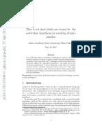 Fermi Paradox Paper