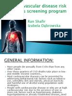 Cardiovascular Disease Risk Factors Screening Program