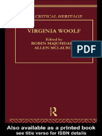 McLaurin, Allen Virginia Woolf Critical Heritage