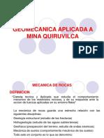 CAPACITACION GEOMECANICA  - quiruvilca