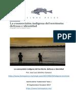 La Cosmovisión Indígena Del Territorio Defensa e Identidad