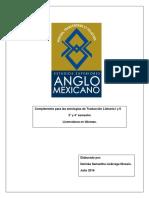 COMPLEMENTO DE antología TRAD
