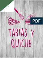 Tartas y Quiche