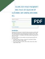 Install Windows in UEFI - EliteBook 8730w