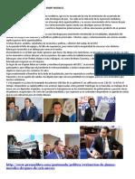 Situacion Actual Del Gobierno de Jimmy Morales