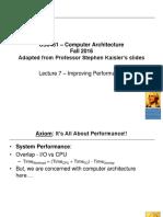 CS6461ComputerArchitectureLecture7.ppt