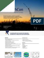 Catálogo de serviços de projeto de içamento offshore - Plano de Rigging