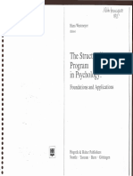 Westmeyer (Ed)-The Structuralist Program in Psychology