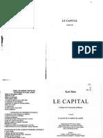 MARX Le Capital Livre 2
