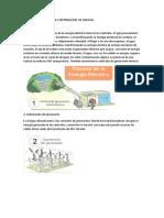 Proceso de Generacion y Distribucion de Energia