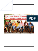 JSU Course Catalog 2017-2018