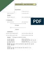 Identites Remarquables-equations Produit