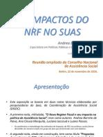 Apresentação PEC 241 RDA - Impactos Na Assistência - Andrea Barreto IPEA