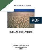 Huellas en El Viento (Benedicto González Vargas)