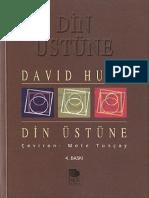 David Hume - Din Üstüne