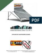 Catalogo Calentadores Solares