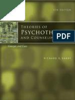 Teorías de Psicoterapia y Consejería Conceptos y Casos